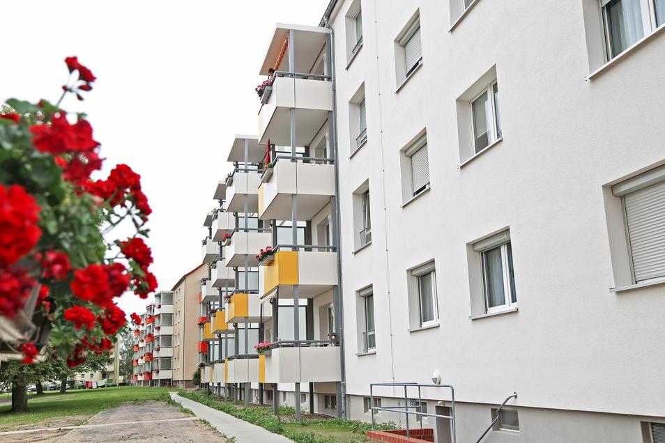 Die Genossenschaft hat an der Steyerstraße zuletzt auch Blöcke saniert.
