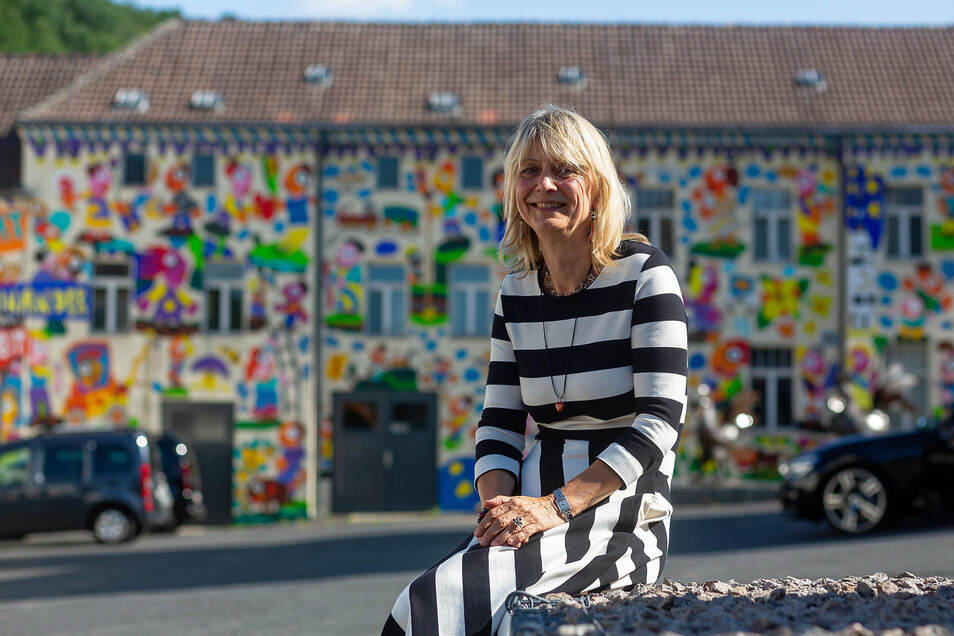 Eva Pretzsch ist Tourismusexpertin und leitet jetzt das Geopark-Projekt in Dorfhain.