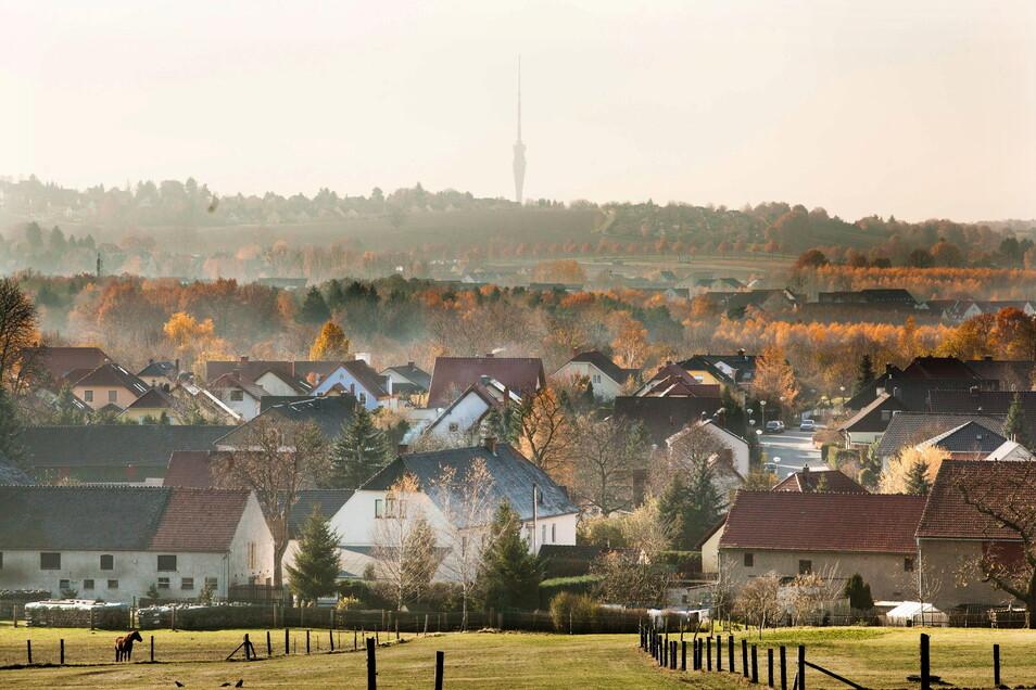 Der Radeberger Ortsteil Ullersdorf ist als Wohnort begehrt. Zuletzt wurden hier Grundstücke für 245 Euro pro Quadratmeter verkauft.