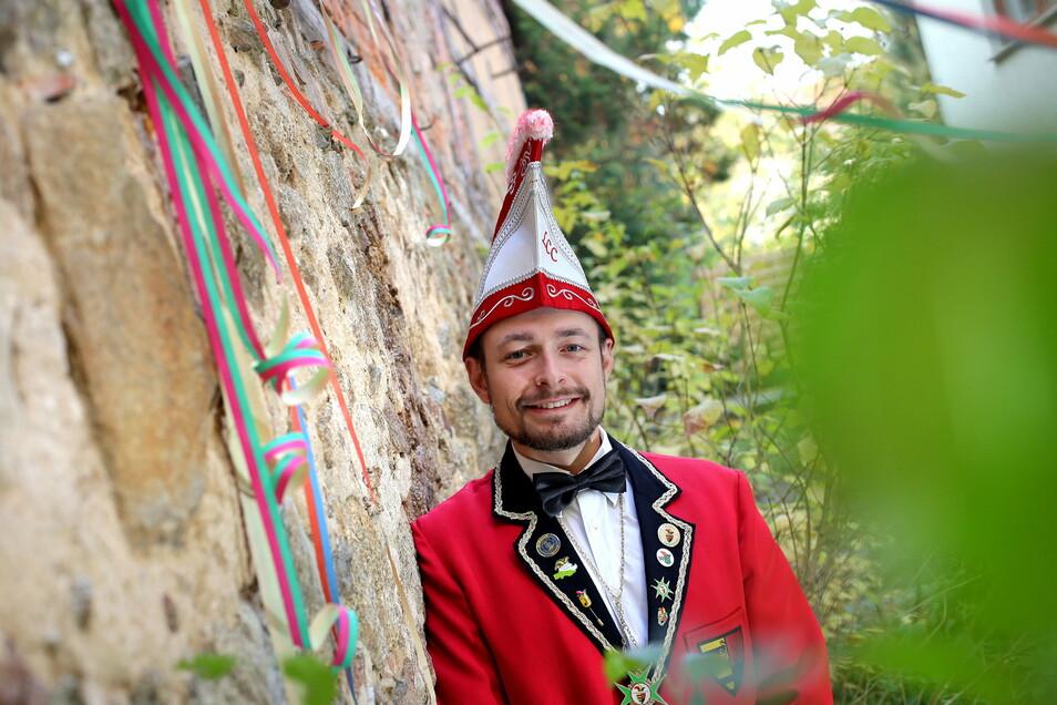 Robert Krause ist Präsident des Lomnitzer Carnevals Clubs.