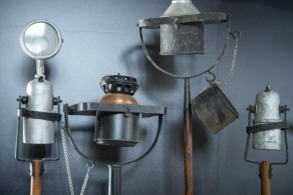 Museum im Museum: Die Geschichte der Öllampen.
