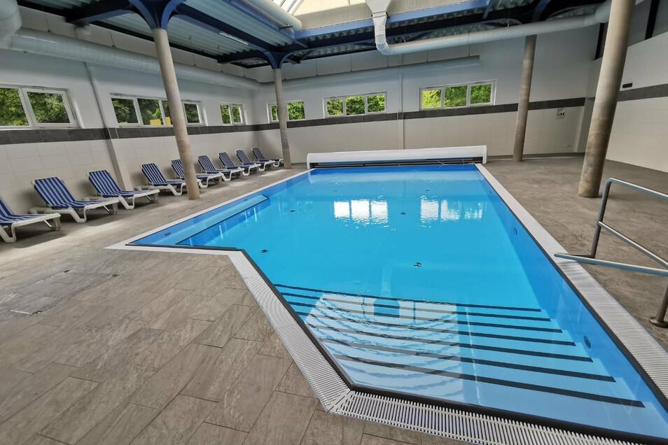 So sieht die Schwimmhalle im Westparkt-Center in Zittau jetzt aus.