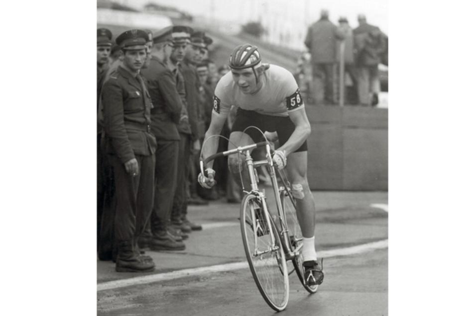 Hans-Joachim Hartnick auf der Strecke
