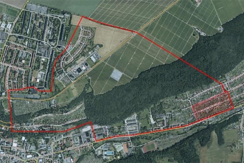 Die Karte zeigt den Evakuierungsbereich.