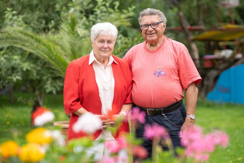 Seit 61 Jahren verheiratet: Christa Kay und ihr Mann Ewald.