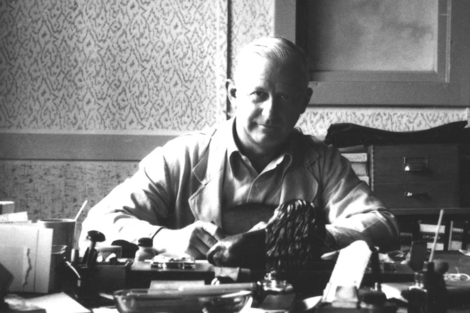 Hans-Jürgen Mühles Vater Hans Mühle.