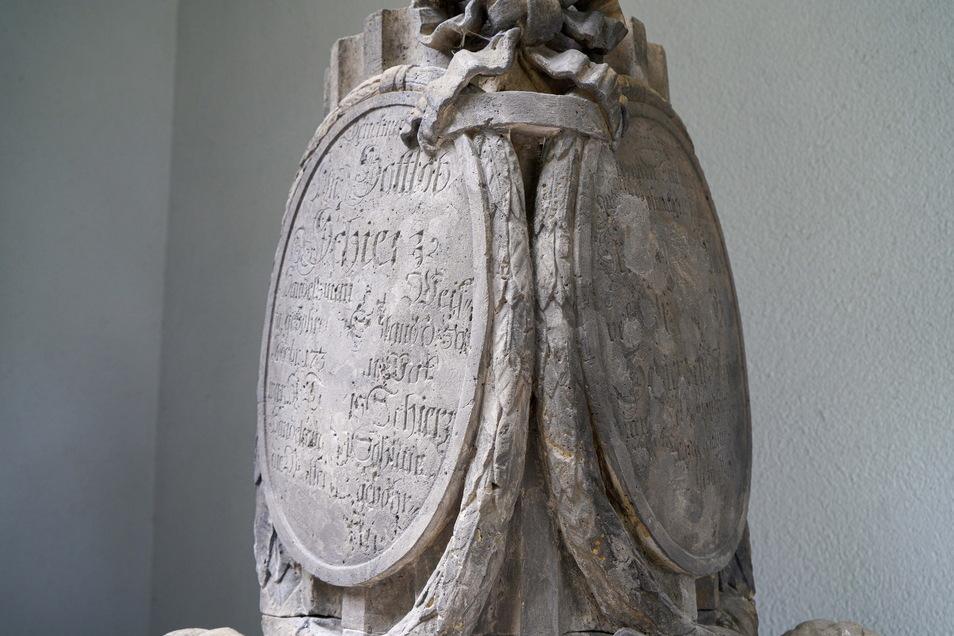 Nicht jeder Buchstabe der Inschriften konnte entziffert werden, aber ein Großteil schon.