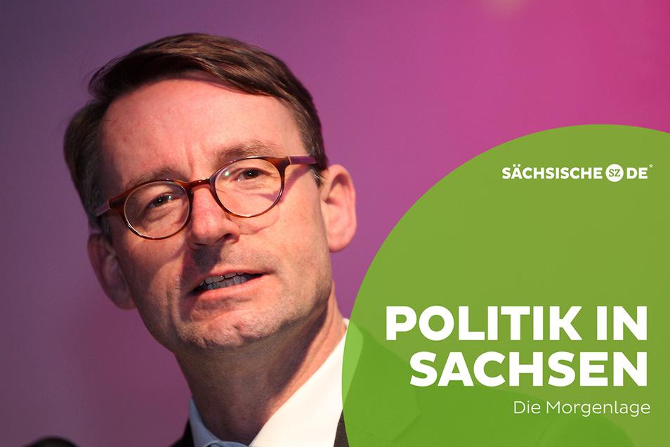 Für Sachsens Innenminister Roland Wöller (CDU) könnte der heutige Tag, ein entscheidender in seiner Karriere werden.