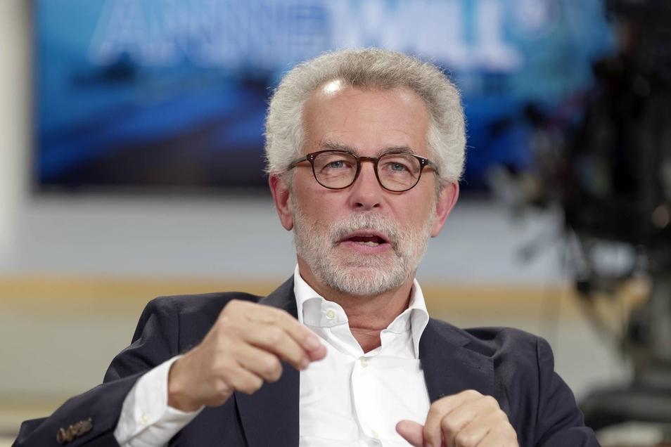 Hans Vorländer, Politikwissenschaftler, zu Gast bei Anne Will.