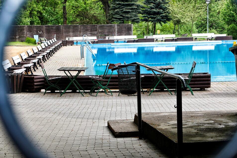 Für diese Saison hat das Bernstädter Waldbad bereits seine Tore geschlossen. Wie es generell weitergehen soll, beschäftigt den Stadtrat.