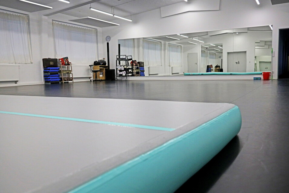 Der Tanzsaal im neuen Domizil des Tanzstudios muss leer bleiben.