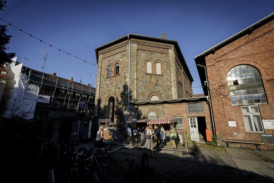 Seit 2007 beleben die Zukunftsvisionen leerstehende Görlitzer Gebäude mit Kunst. Diesmal das alte Gasometer Oktogon in der Lunitz.
