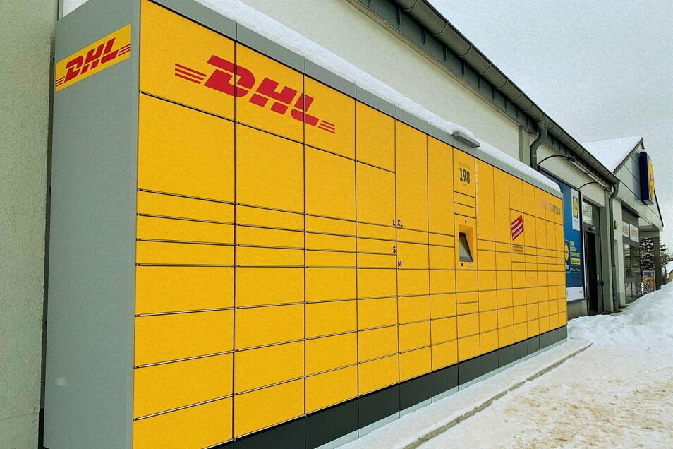 Neue DHL-Packstation am Copitzer Lidl-Markt: Kontaktlos Pakete empfangen und verschicken.