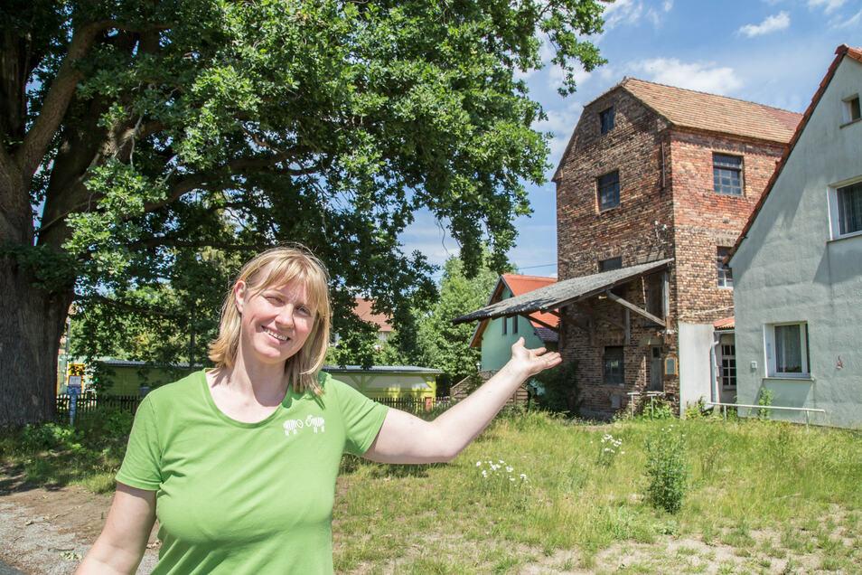 Annett Hertweck von der Naturschutzstation in Förstgen hat große Pläne mit der alten Mühle in Förstgen. Leader-Gelder machen's möglich. Doch deren Zukunft ist ungewiss.