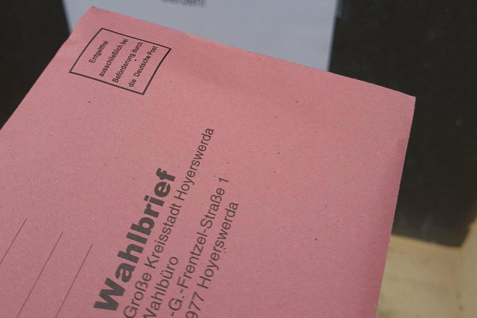 Auch am Wahltag können noch bis 18 Uhr Briefwähler ihre Unterlagen in den Briefkasten am Neuen Rathaus in der Frentzelstraße einwerfen.