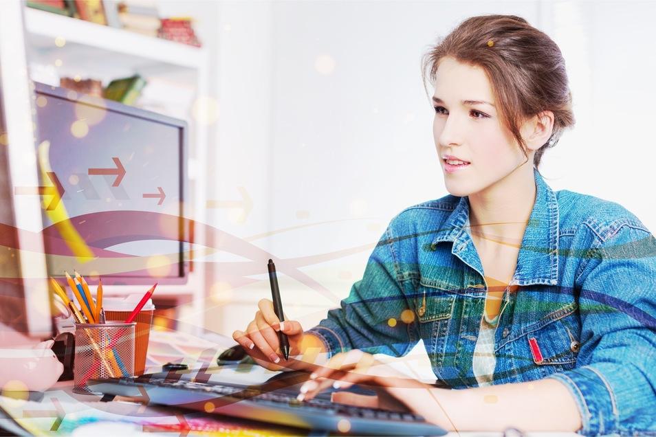 Jugendliche haben oft einen anderen, intuitiveren Zugang zu digitalen Formaten als etwas ältere Erwachsene. Das kann Ausbildungsbetrieben zugutekommen.