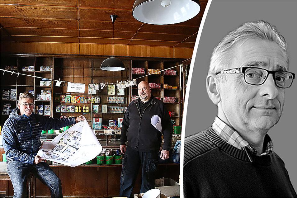 """Frank Oehl kommentiert das Scheitern der """"Neuen Altstadt Kamenz""""."""