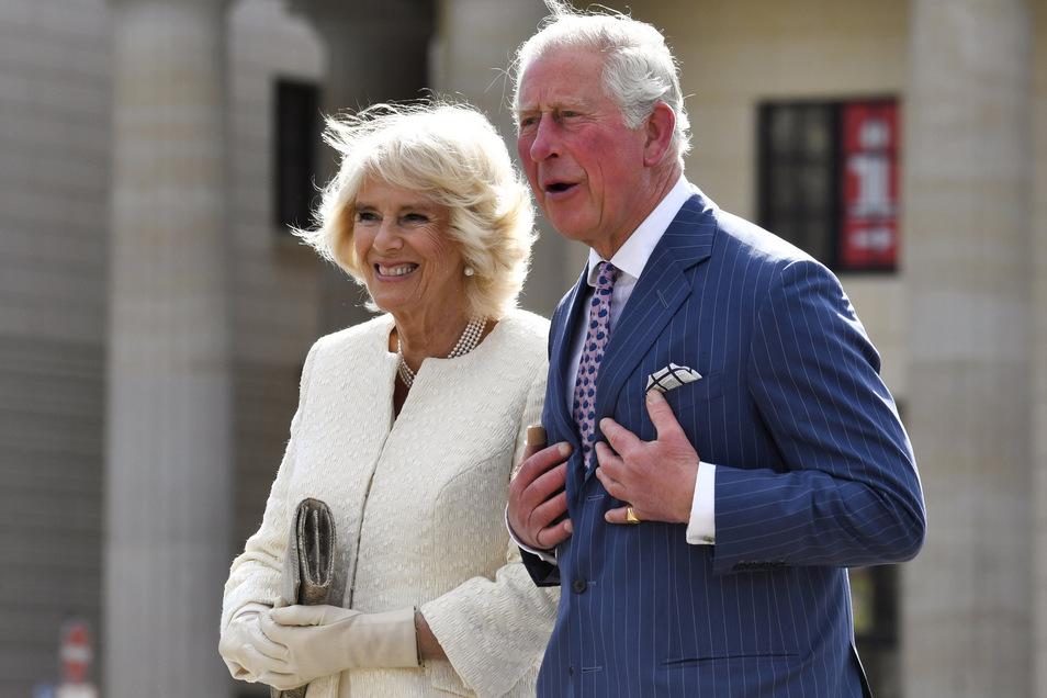 Prinz Charles kommt mit seiner Frau Camilla am Mittwoch nach Leipzig