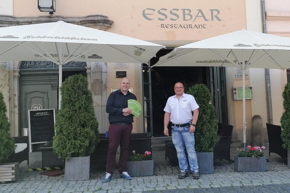 Auch die Essbar in Zittau ist beim Gewinnspiel dabei.