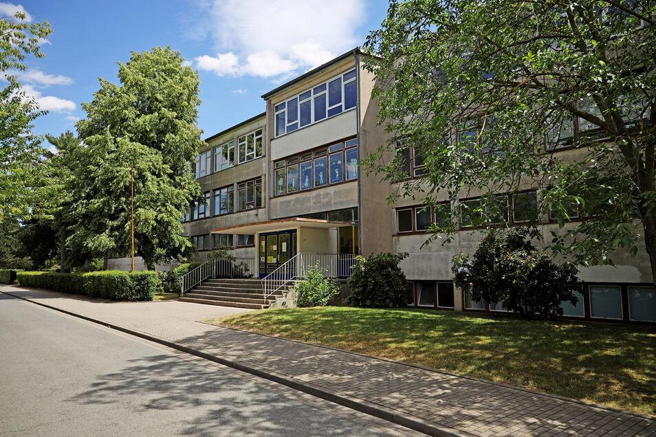 Die 3. Grundschule im Riesaer Stadtteil Weida.