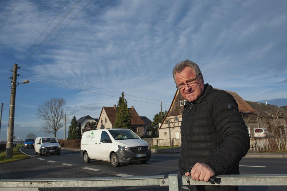 Schönfelds Bürgermeister Hans-Joachim Weigel.