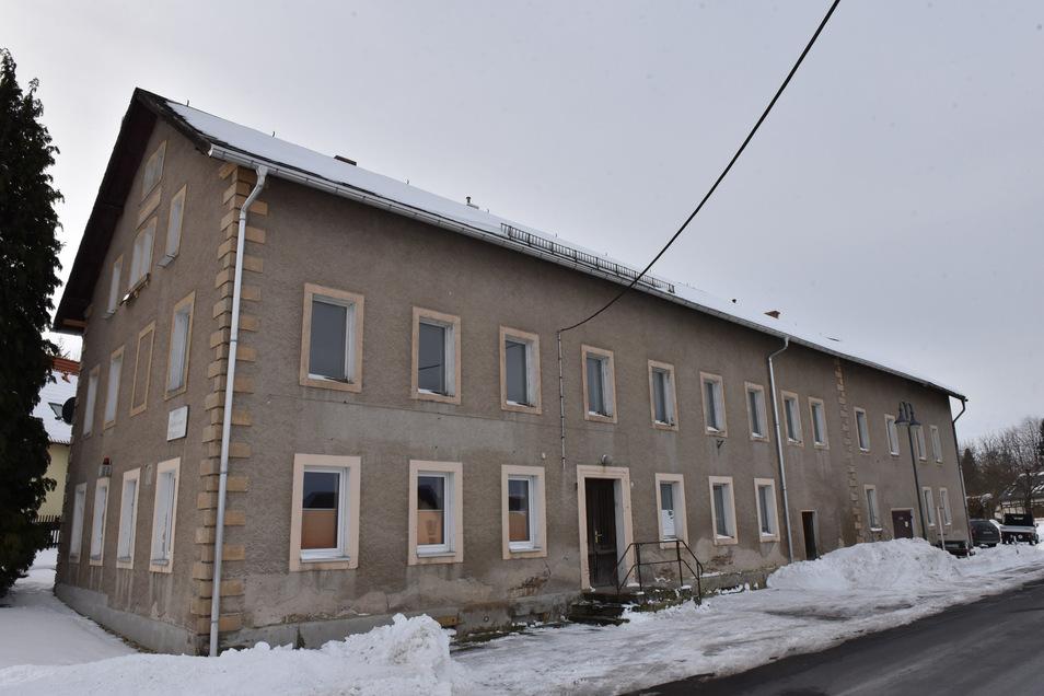 Der ehemalige Gasthof Obercunnersdorf wird zum Dorfgemeinschafts- und Feuerwehrhaus umgebaut.