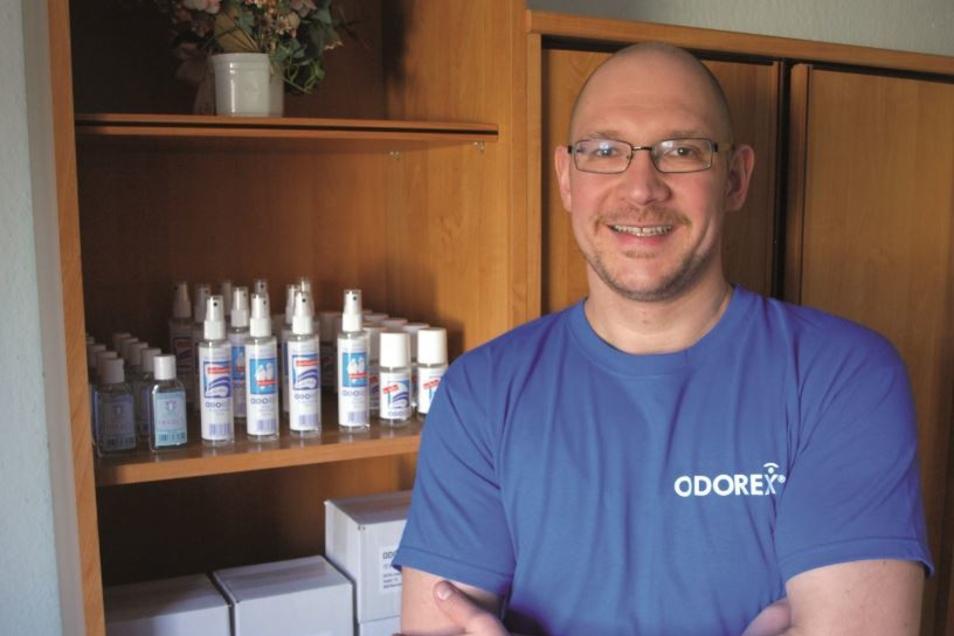 Spannende Idee aus dem West-Erzgebirge: Das Antitranspirant Odorex von Odvital Cosmetics.