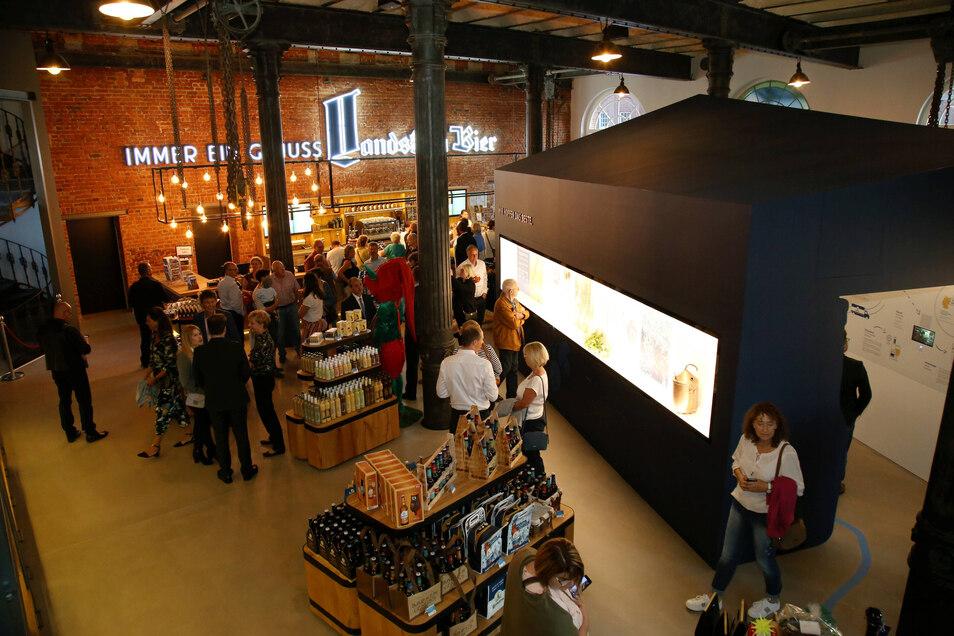 Seit einem Jahr gibt es jetzt das neue Besucherzentrum bei der Görlitzer Landskron Brauerei.