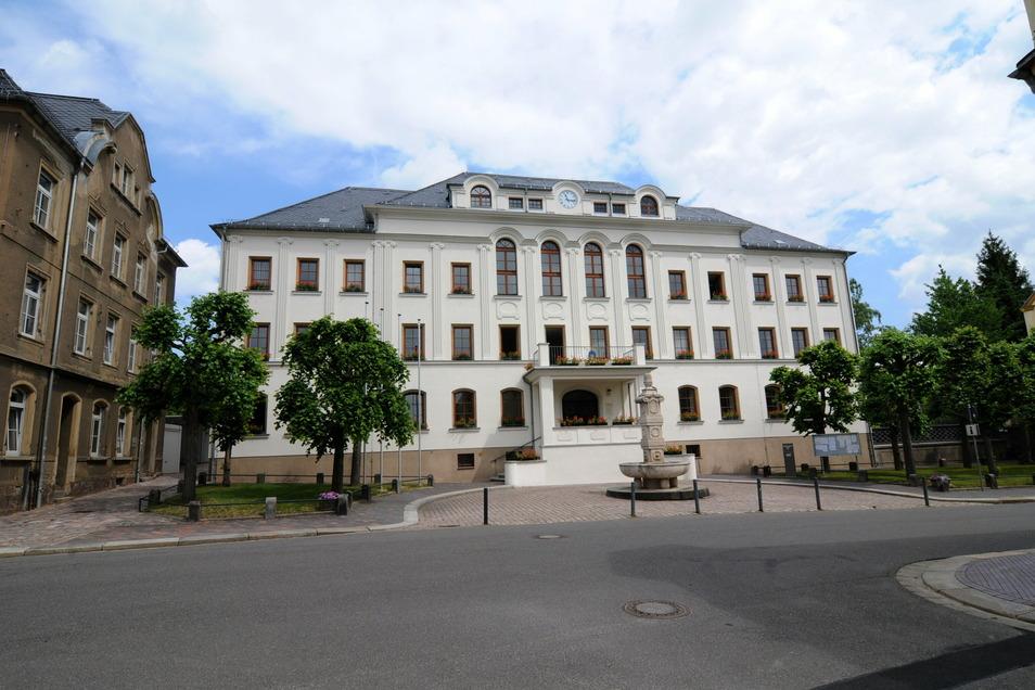 Für knapp 60 Prozent der Mitarbeiter am Rathaus in Hartha besteht die Möglichkeit, zumindest teilweise im Homeoffice zu arbeiten.