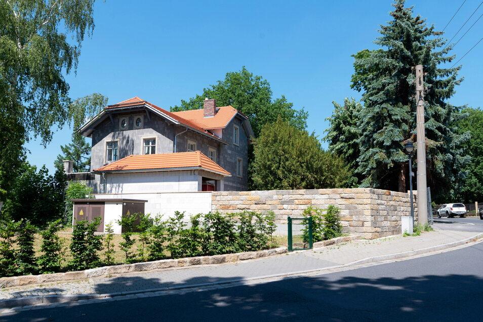 Das neue Richter-Haus ähnelt der alten Villa sehr.