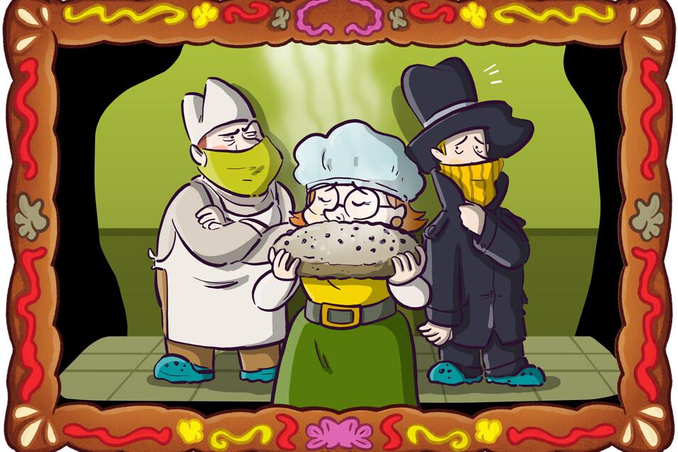 Während Frau Sachse echten Stollen mit der Nase erkennt, kommt dem Bäckermeister Detektiv Spätzle verdächtig bekannt vor.