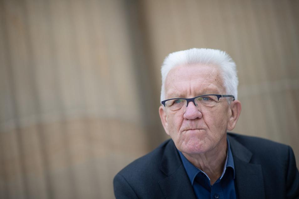 Winfried Kretschmann (Bündnis 90/Die Grünen), Ministerpräsident von Baden-Württemberg-