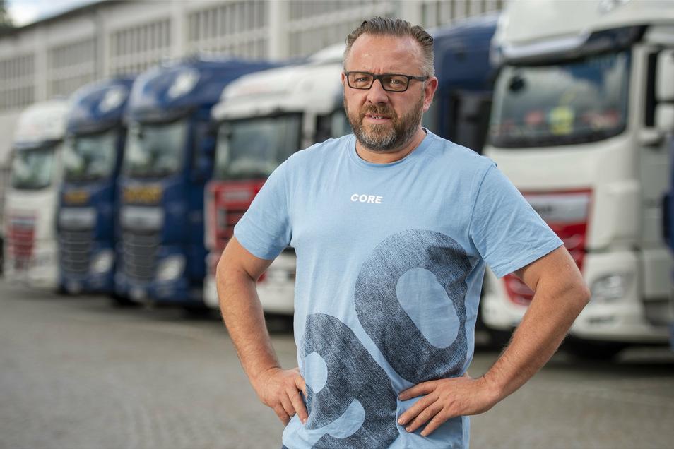 André Rodewald war 1990 der erste Mitarbeiter in dem von seinem Vater neu gegründeten Unternehmen. Das ist seit dem gewachsen und wird nun von ihm und seinem Bruder geführt.