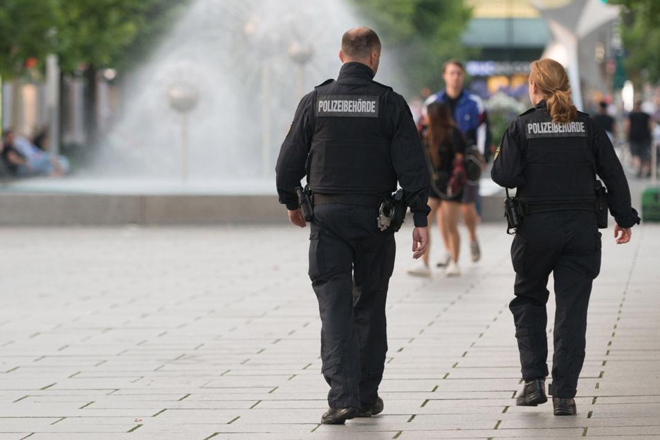 Besonders oft musste das Ordnungsamt auf der Prager Straße für ruhigere Töne sorgen.
