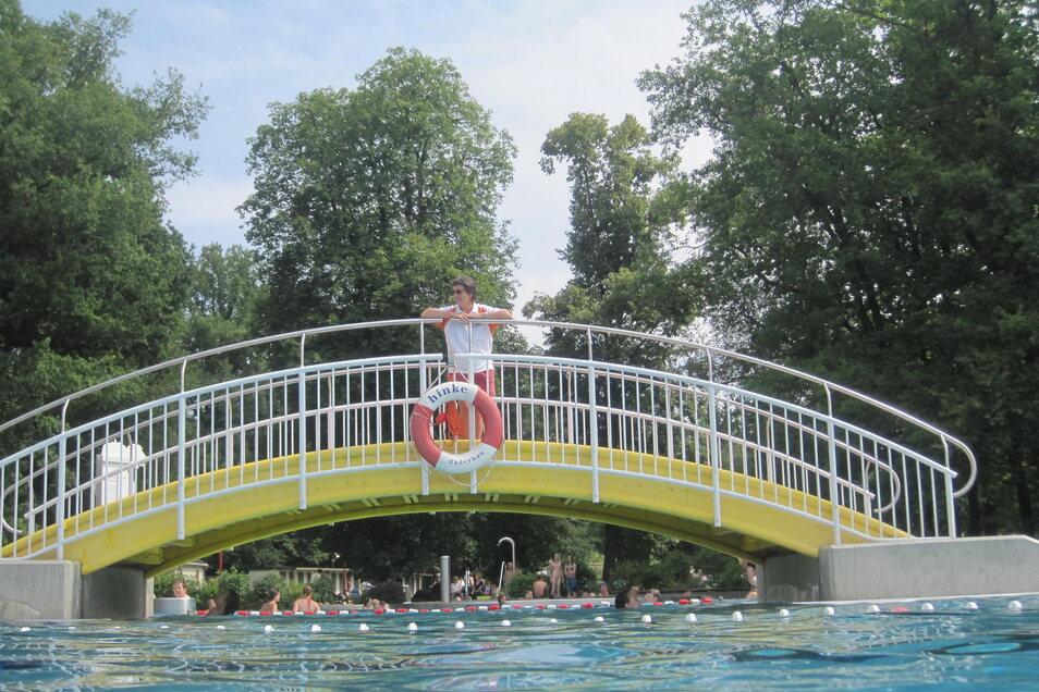Die Wasserwelt Steinigtwolmsdorf startet am Freitag in die Saison.