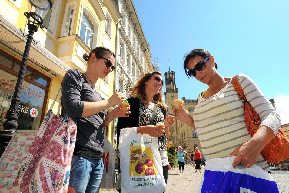 In der Zittauer Innenstadt sind die Läden in diesem Jahr an drei Sonntagen geöffnet, in der ganzen Stadt an zwei.