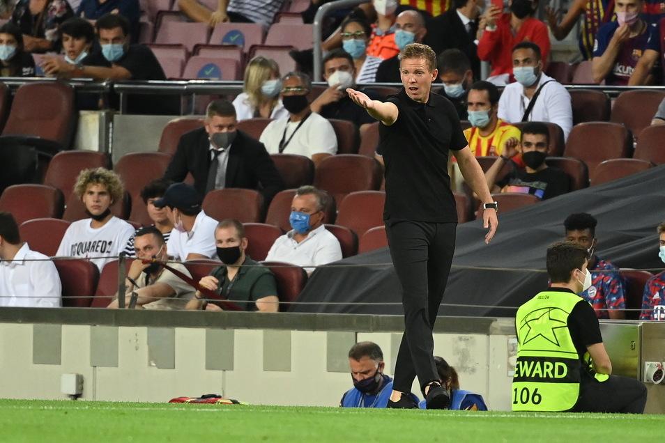 Konnte zufrieden sein: Münchens Trainer Julian Nagelsmann.