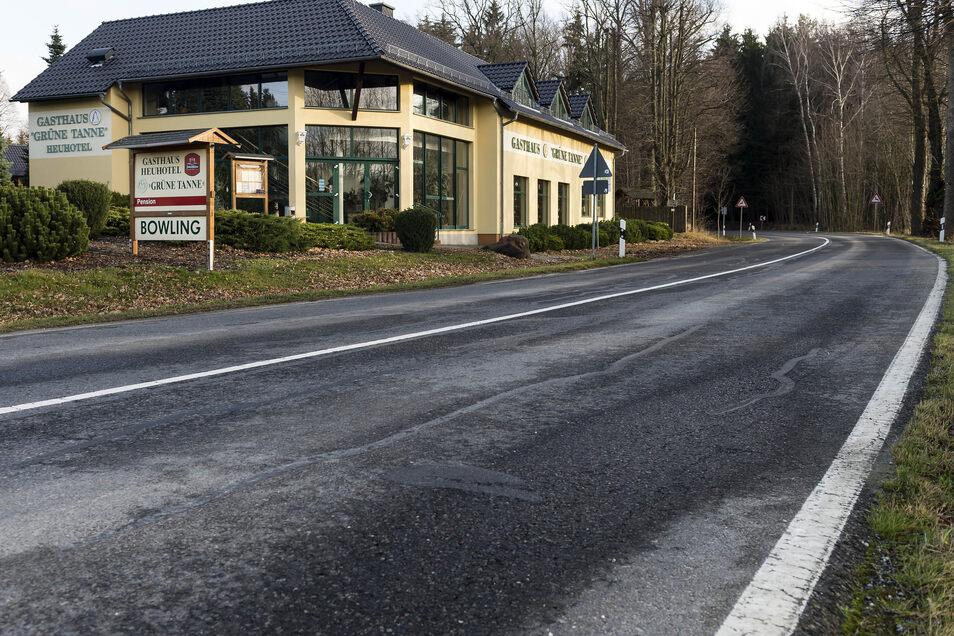 """In der """"Grünen Tanne"""" in Putzkau gab es in den vergangenen Jahren mehrere Betreiberwechsel. Künftig wird sie wahrscheinlich nicht mehr als Restaurant öffnen."""