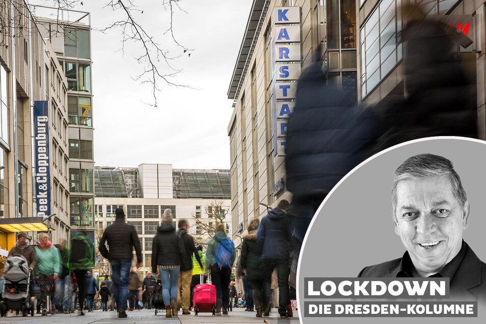 Shoppingtouren in Dresden sind ab sofort für Besucher aus Tschechien verboten.