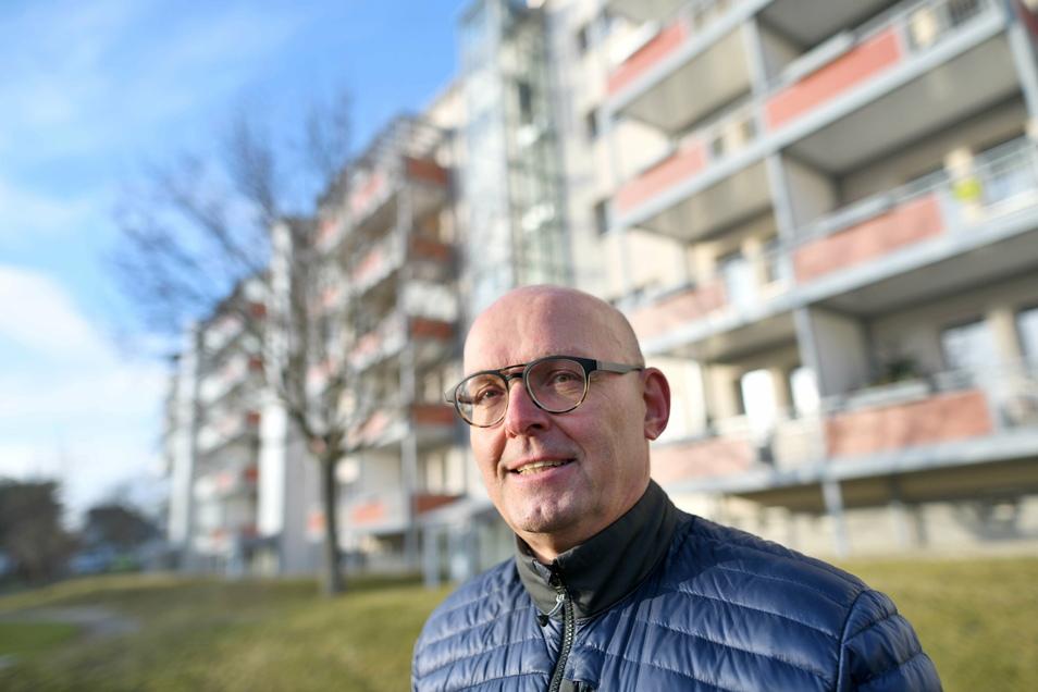 Jürgen Weise ist 35 Jahre Vorstand der Wohnungsbaugesellschaft Oberland Neugersdorf gewesen. Jetzt ist er in Rente gegangen.