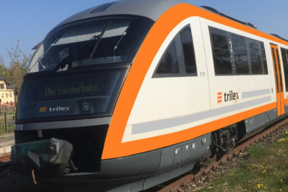 Für die Trilexzüge auf der Strecke Dresden -Zittau gelten ab Freitag Fahrplanänderungen, weil auf einem Abschnitt gebaut wird.
