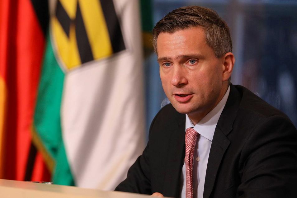 Sachsens Wirtschaftsminister Martin Dulig freut sich über das steigende Interesse am Wirtschaftsstandort Sachsen.