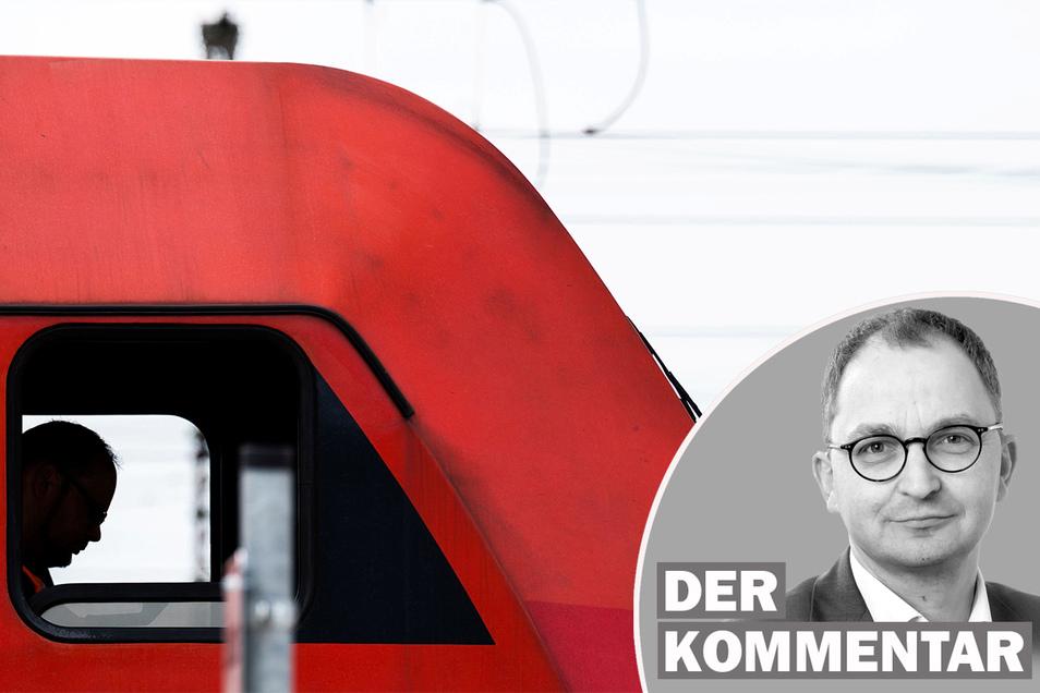 Bei der Deutschen Bahn rücken Streiks der Lokführer mitten in der Ferienzeit näher.