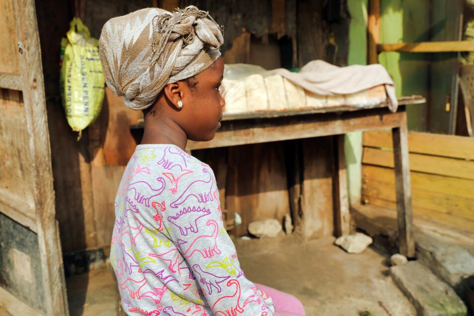 Semilore Adebiyi, fünf Jahre alt, wurde als Zweijährige von einer Frau entführt und einen Monat später dann von der Polizei im 600 Kilometer entfernten Bundesstaat Abia in einer sogenannten Baby-Fabrik entdeckt.