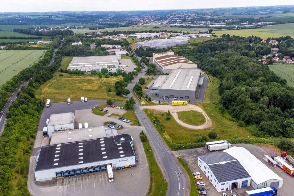 Das Gewerbegebiet Fuchsloch in Döbeln ist nach Berbersdorf in Striegistal das zweitgrößte in Mittelsachsen.