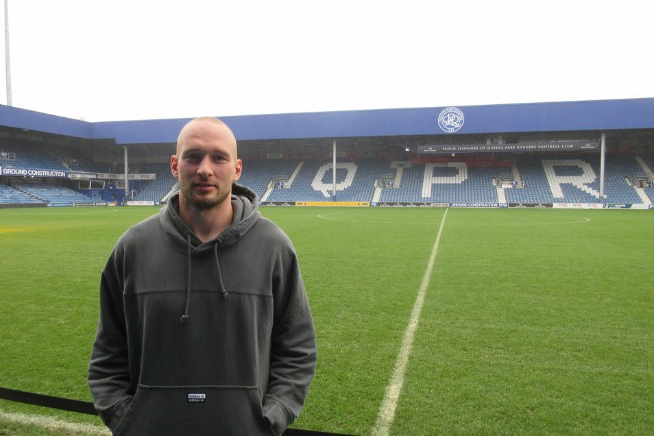 """Zurück in London. Toni Leistner wird, das sagt er selbst, erst mal wieder bei Queens Park Rangers trainieren, betont aber: """"Stand jetzt""""."""