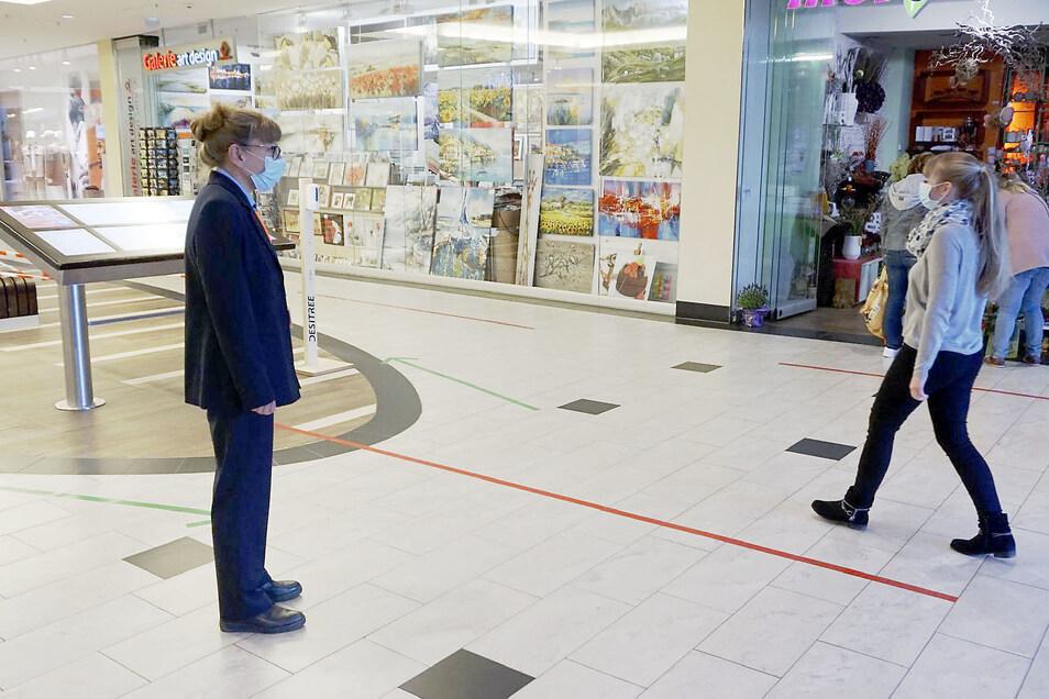 Im ELBEPARK wird für die Sicherheit der Besucher gesorgt.