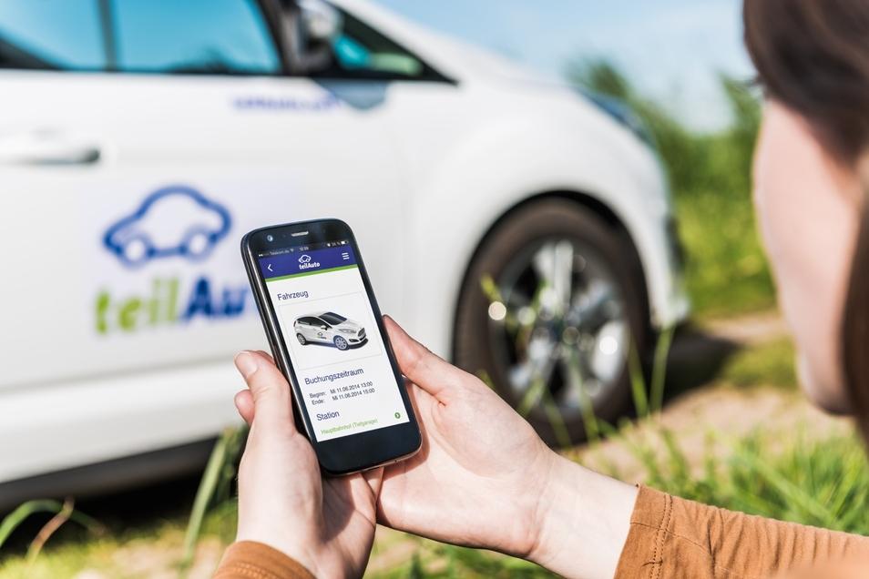 Carsharing-Anbieter Teilauto stockt die Fahrzeugflotte wieder auf.