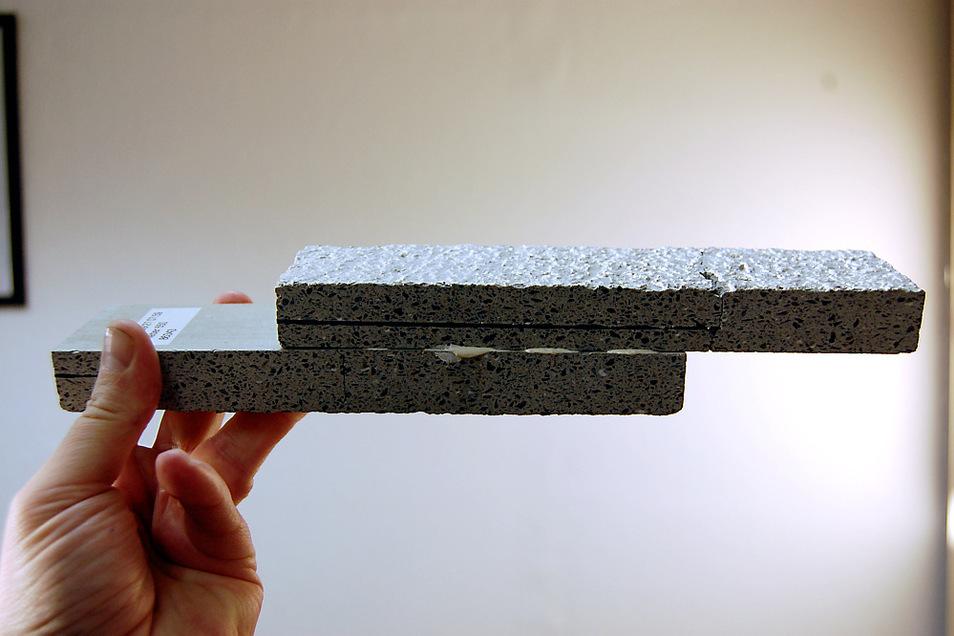 Unter anderem neuartige Technologien stehen im Zusammenhang mit den Überlegungen zu einer grundlegenden Umwälzung des Bauwesens. So können Baustoffe inzwischen auch einfach miteinander verleimt werden.