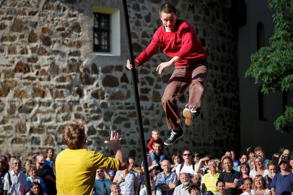 ViaThea in Görlitz - das Straßentheaterfestival ist einer der kulturellen Höhepunkte der Stadt. Ob es 2021 stattfinden kann, ist noch völlig unklar.